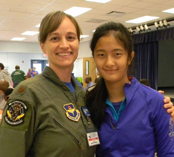 Military female