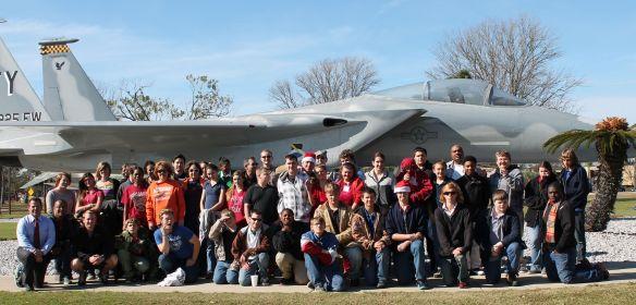 Tyndall field trip group